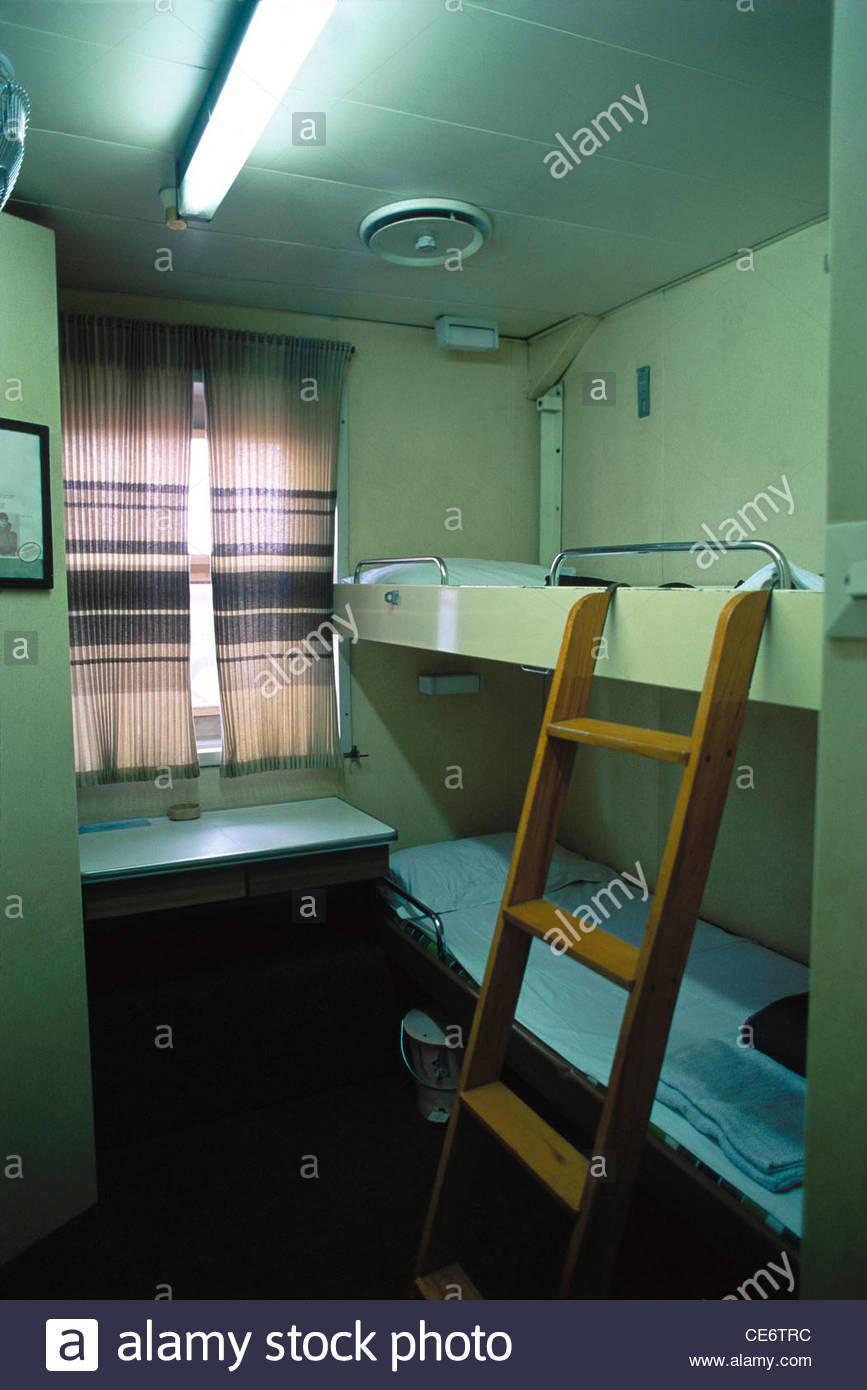 bunk bed ship stock photos bunk bed ship stock images alamy mak 85172 bunk bed ladder in first class ac cabin for two in ship india