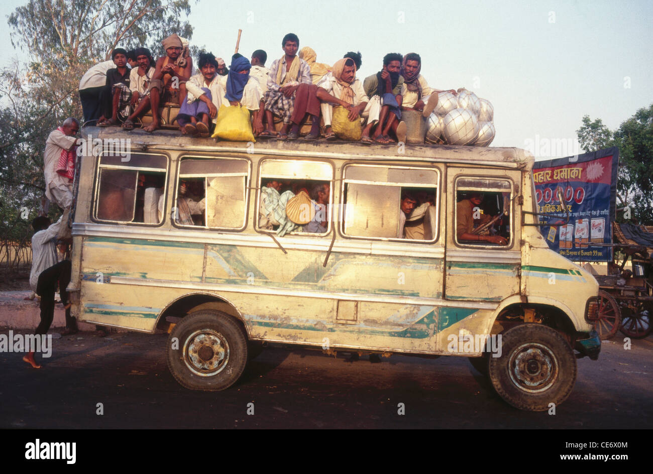 Image result for overcrowded buses in bihar