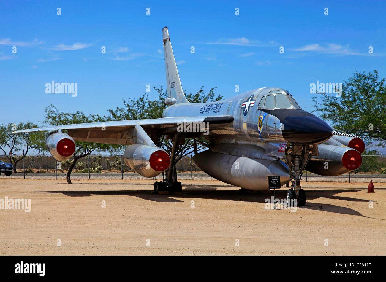 Girl, B 58 hustler air force bomber