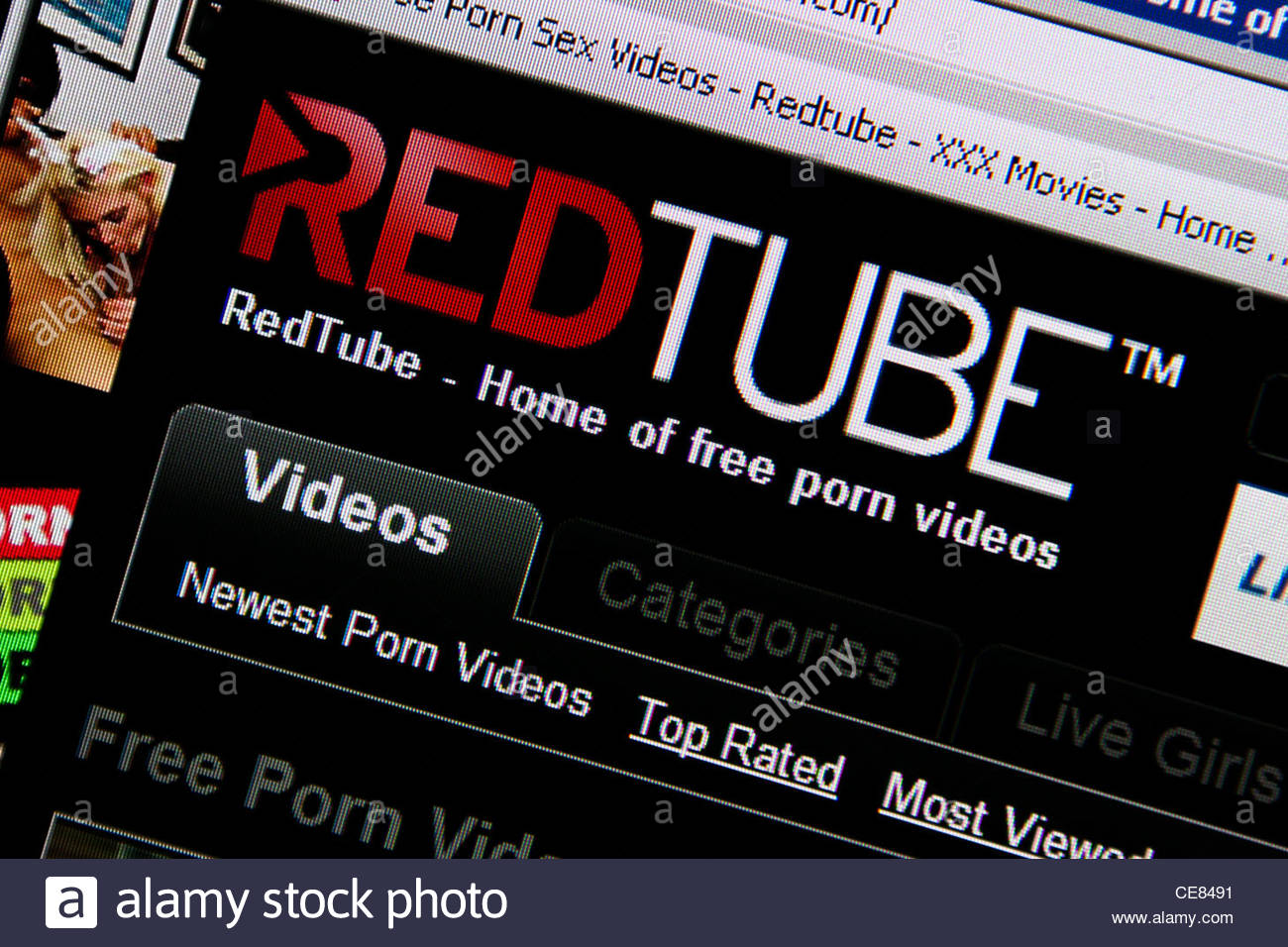 red tube adult