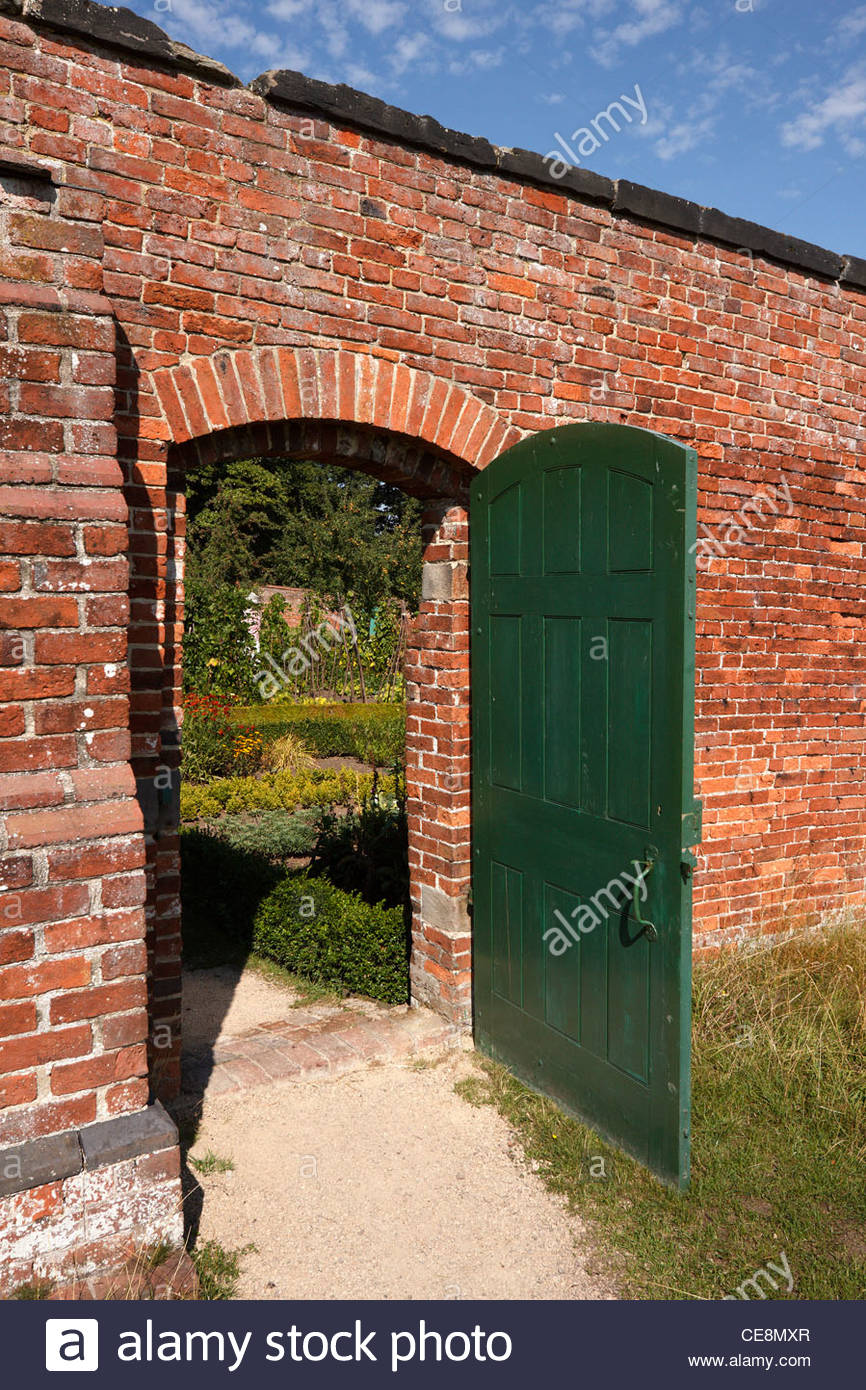 Walled Kitchen Garden Walled Kitchen Garden Stock Photos Walled Kitchen Garden Stock