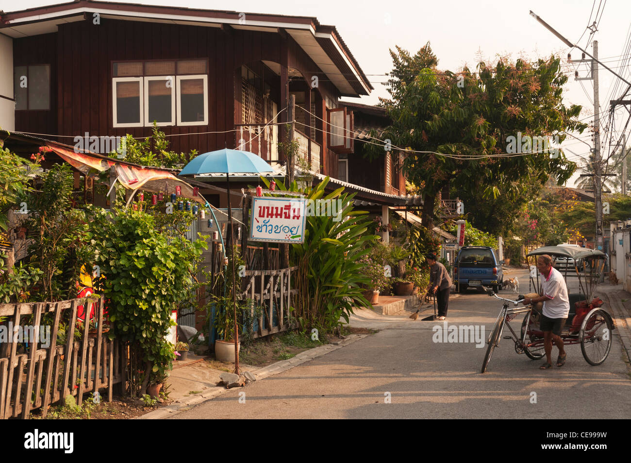 Elk208 1025v thailand chiang mai old city residential for Classic house chiang mai
