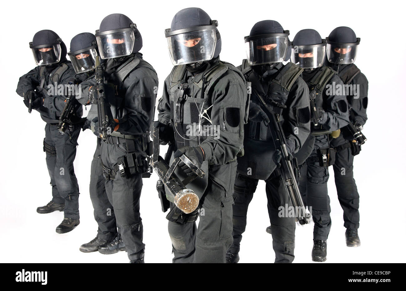 swat team stock photos & swat team stock images - alamy, Human body