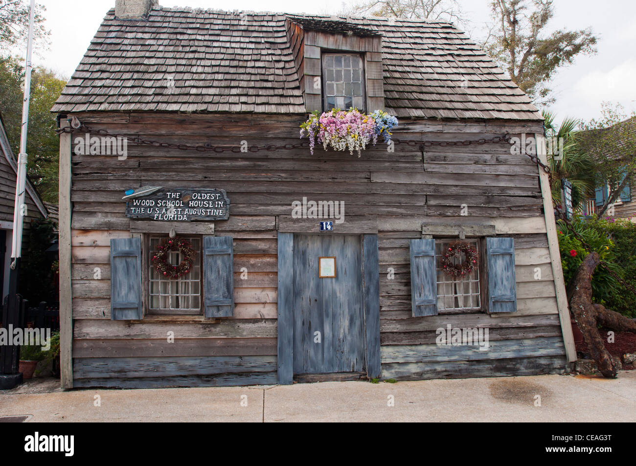 The Oldest Wood School House In The Usa St George Street