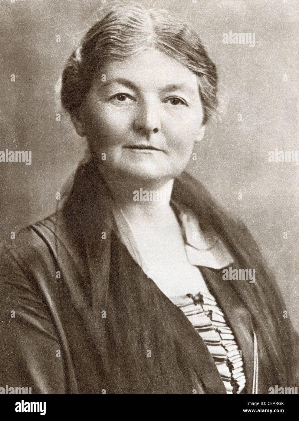 Margaret Grace Bondfield, 1873 – 1953. English Labour politician ...