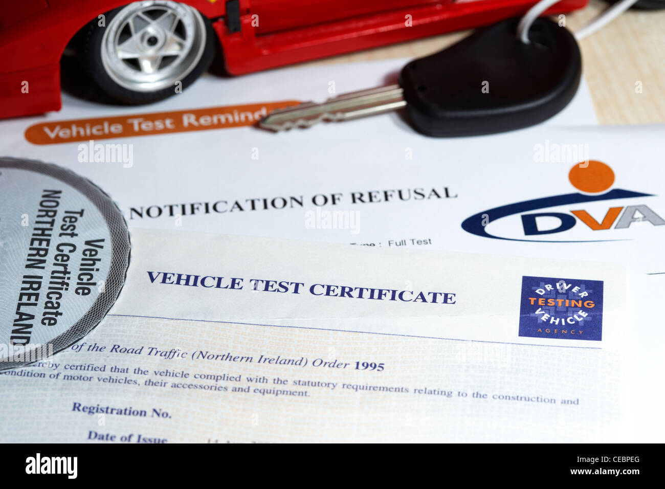 Mot certificate stock photos mot certificate stock images alamy northern ireland official mot vehicle test certificate the mot system in northern ireland is run by 1betcityfo Image collections