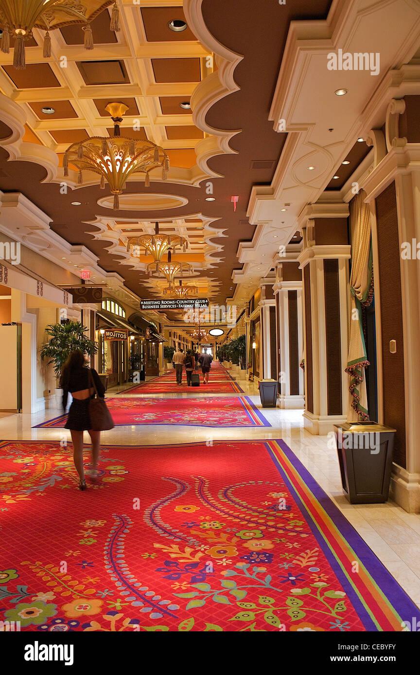 Inside The Wynn Las Vegas Hotel And Casino, Nevada, United States