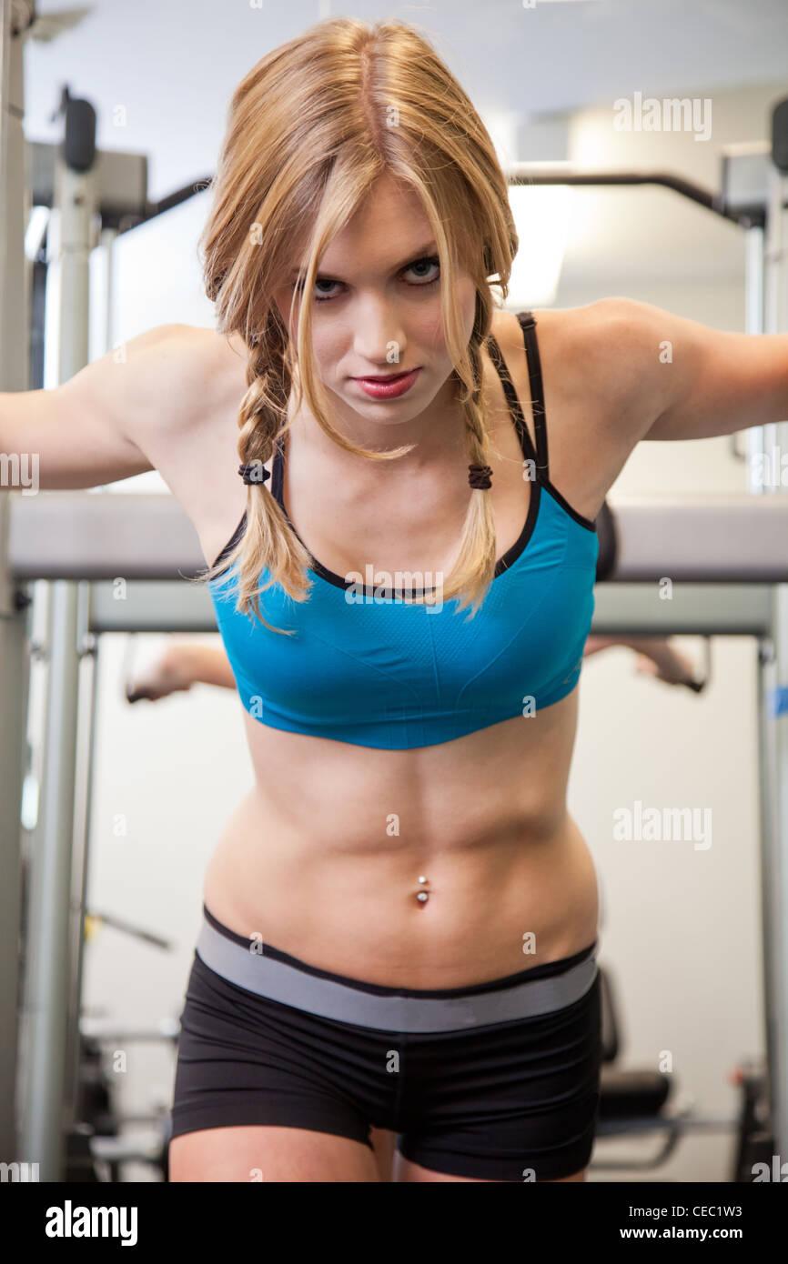 home Fitness girls video fucking