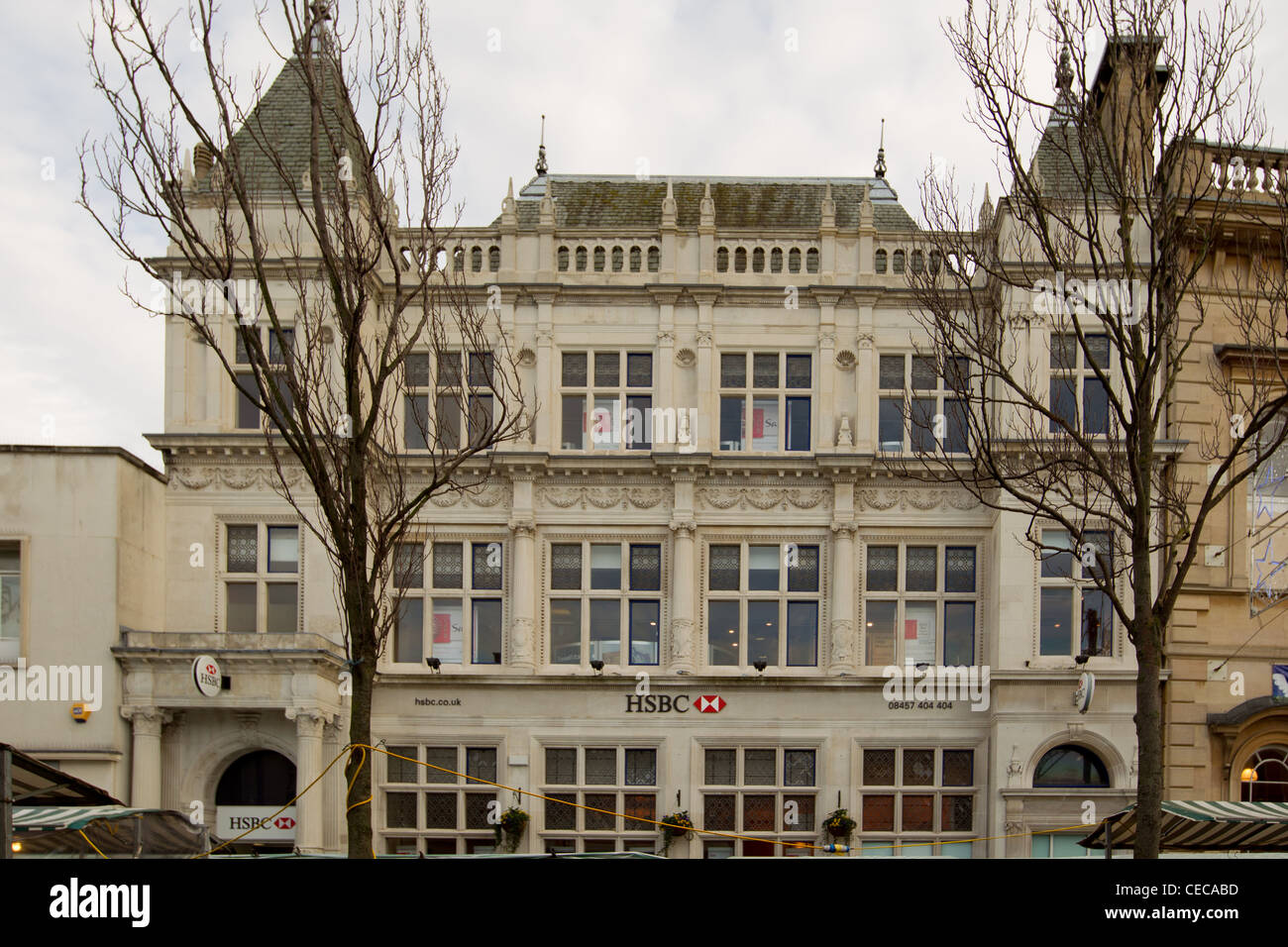 HSBC Bank   Architectural Studies Of Loughborough Buildings