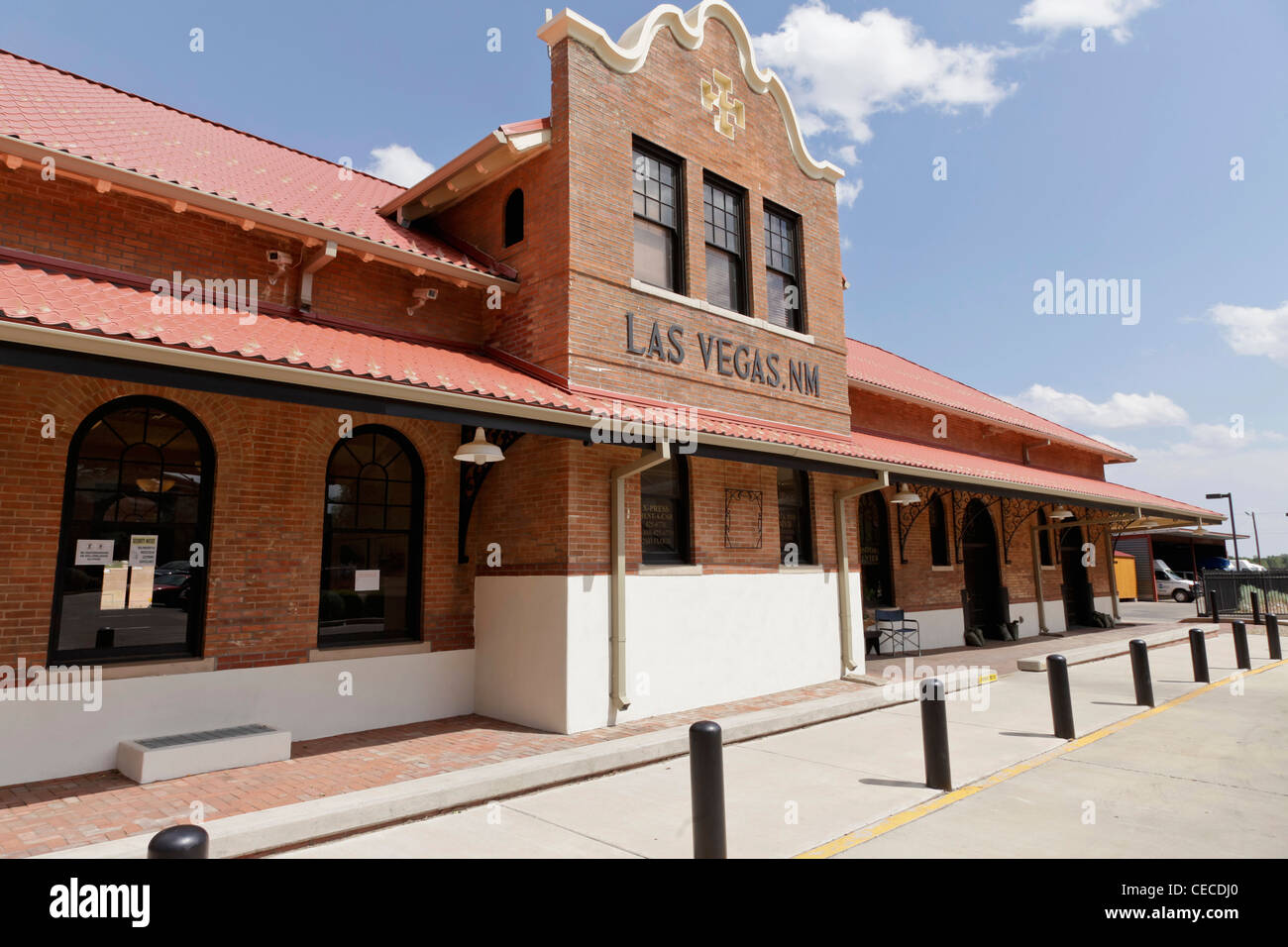 California Mission Style Architecture - Las vegas new mexico united states train station california mission revival style 1898