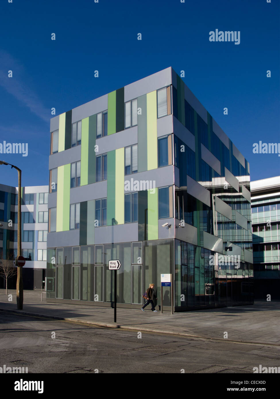 modern architecture buildings. university of sheffield art buildings modern architecture in the heart south yorkshire england
