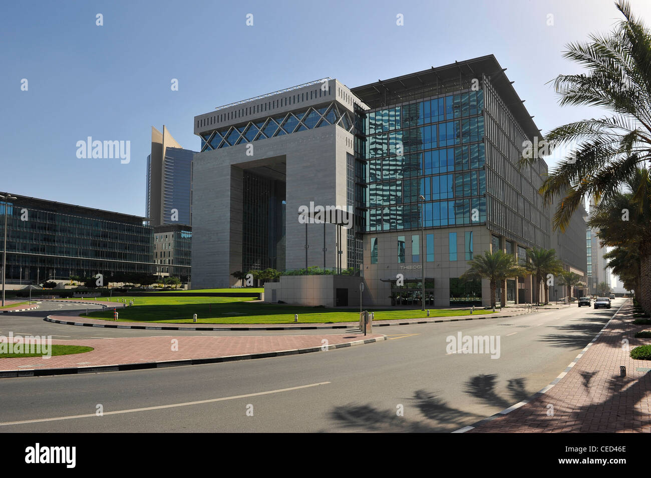 Difc Dubai International Financial Center Modern