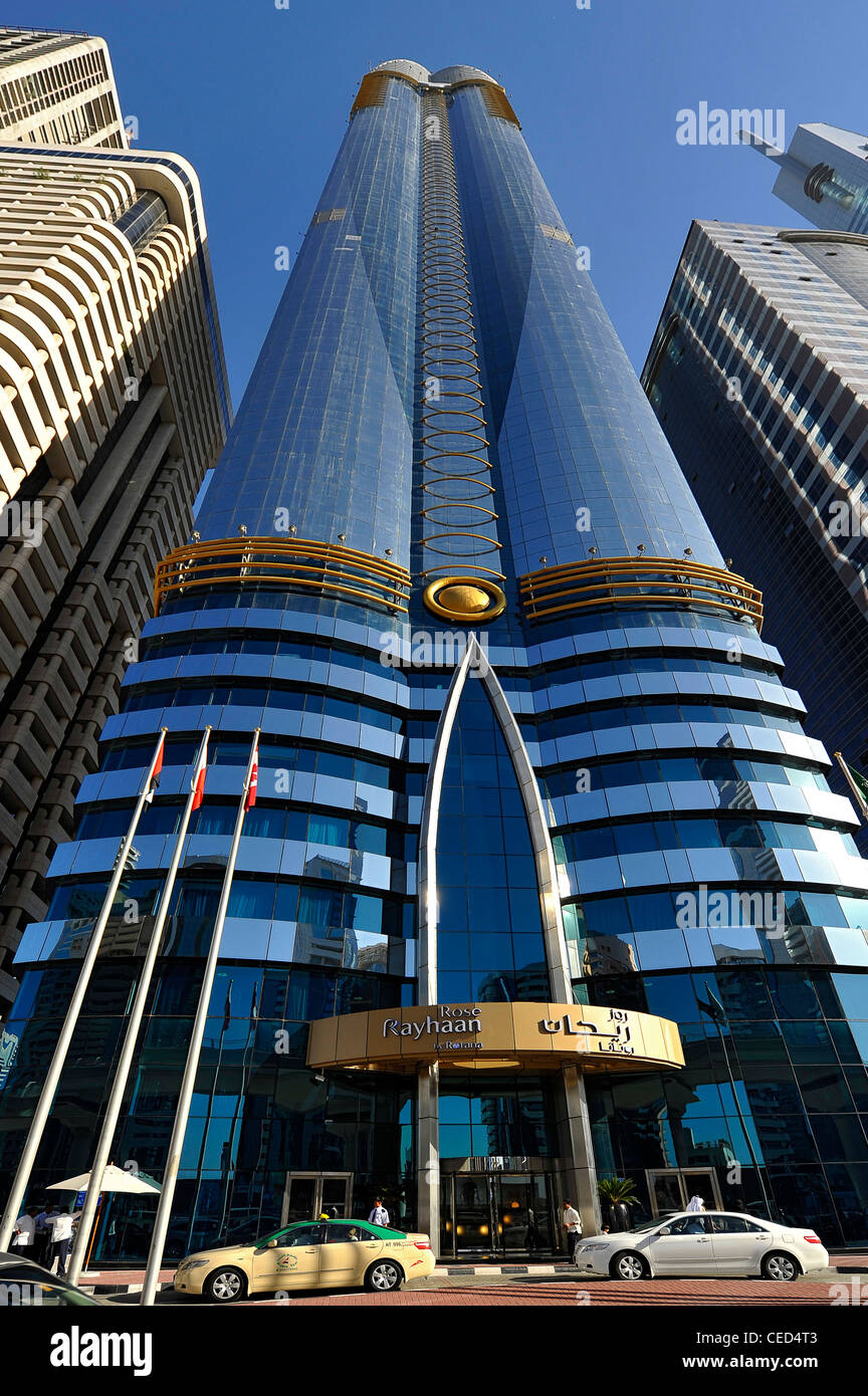 Rose rayhaan by rotana the tallest hotel in the world for Best architecture hotels in the world