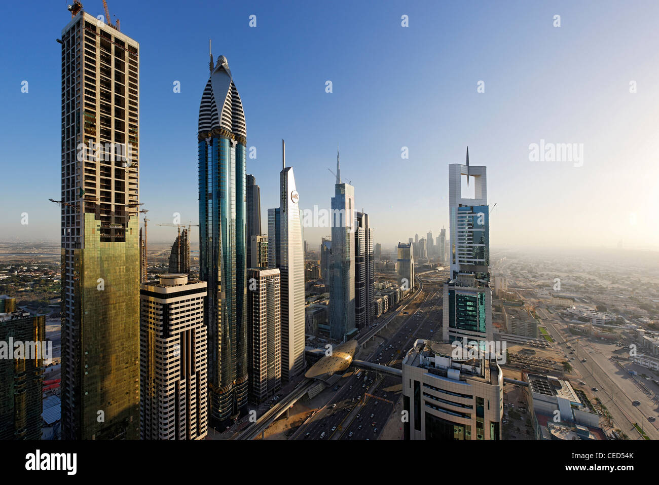 Modern Architecture Skyscrapers rose rayhaanrotana, the tallest hotel in the world, towers