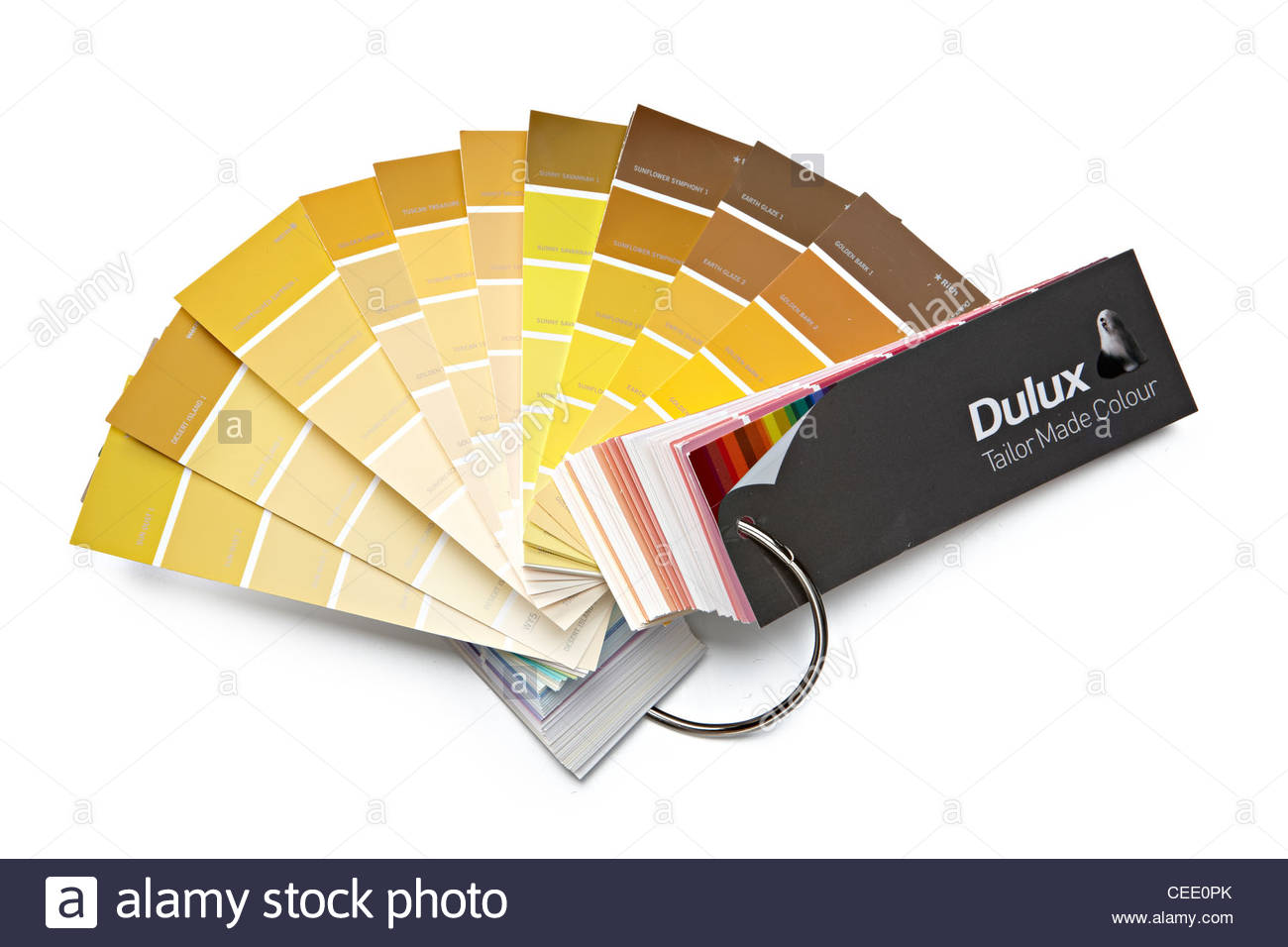 Fanned out paint chart color swatches dulux stock photo 43333883 fanned out paint chart color swatches dulux geenschuldenfo Choice Image