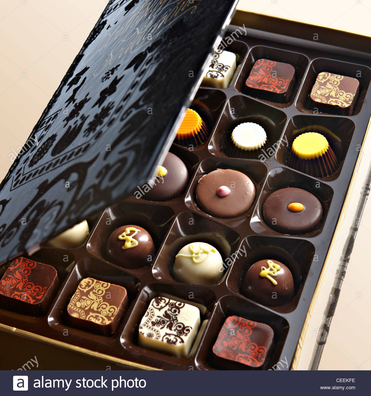 Box Of Chocolates Stock Photos & Box Of Chocolates Stock Images ...