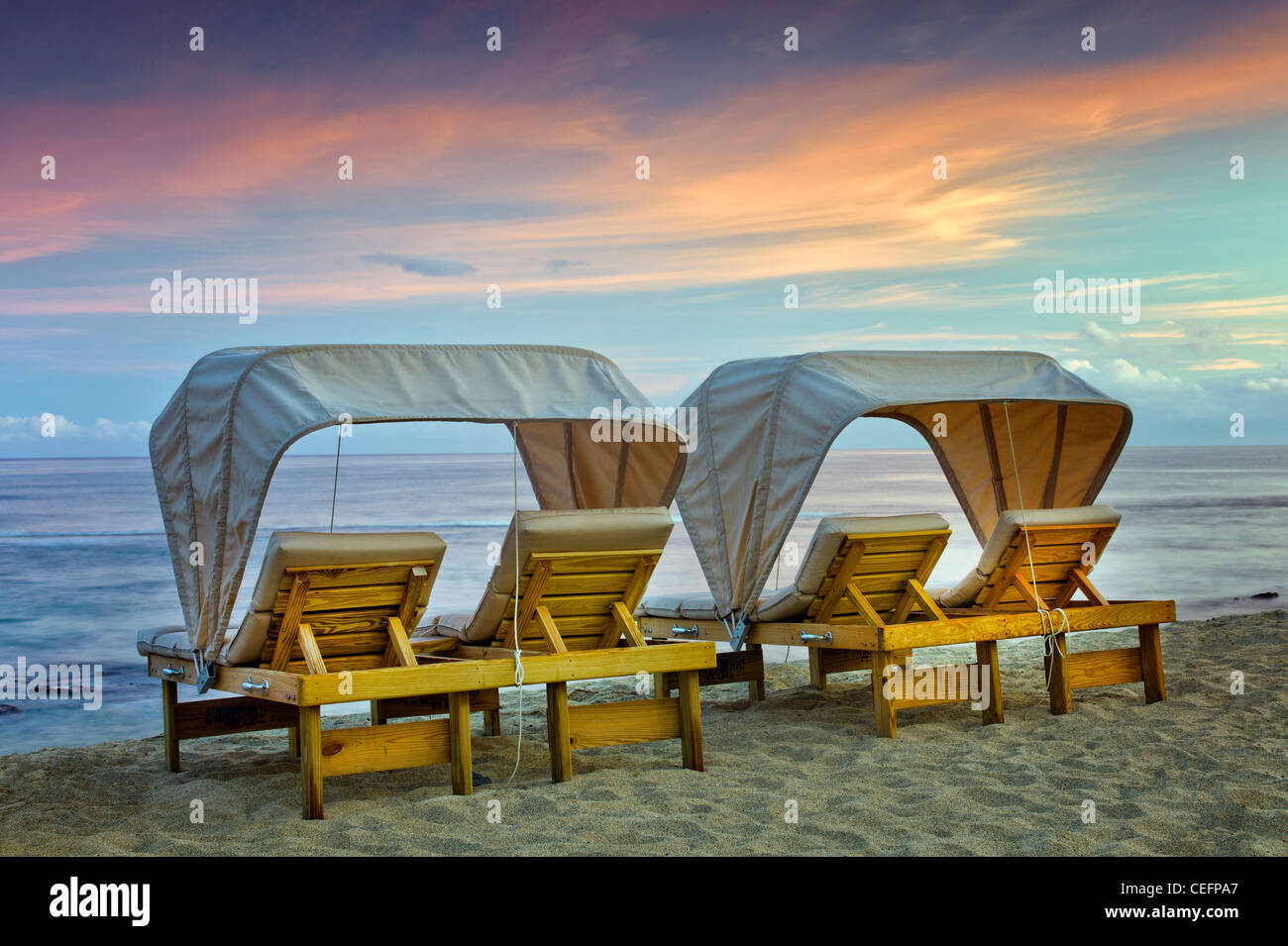 Beach Chairs At The Four Seasons Resort Hawaii The Big