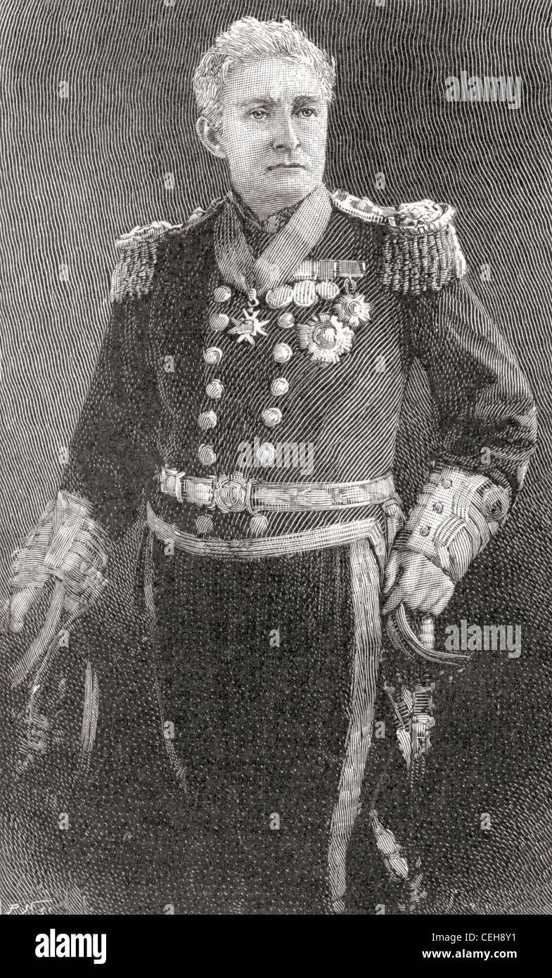Admiral Sir John Charles Dalrymple Hay 3rd Baronet 1821 – 1912