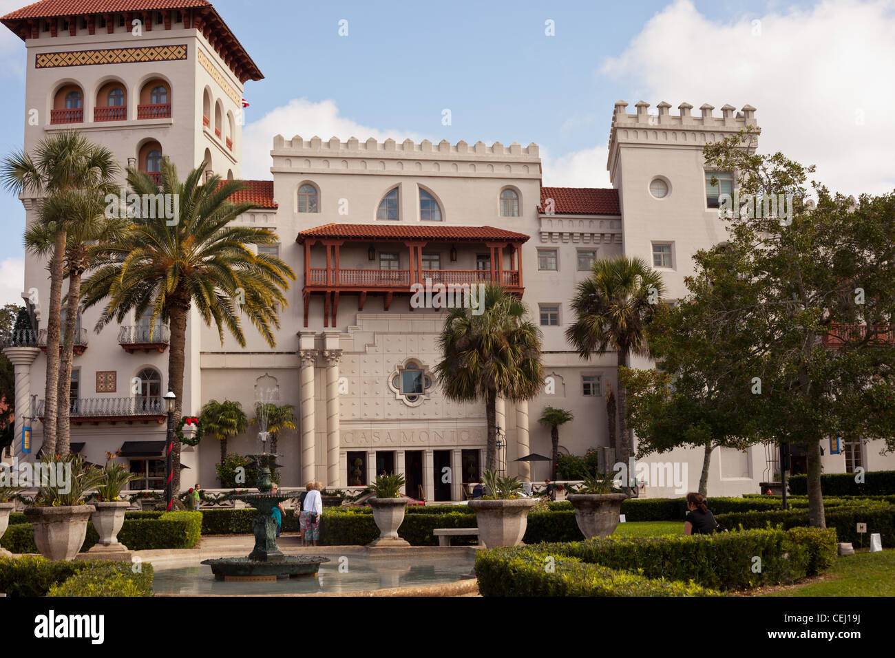 Casa monica hotel st augustine florida usa spanish for Style hotel