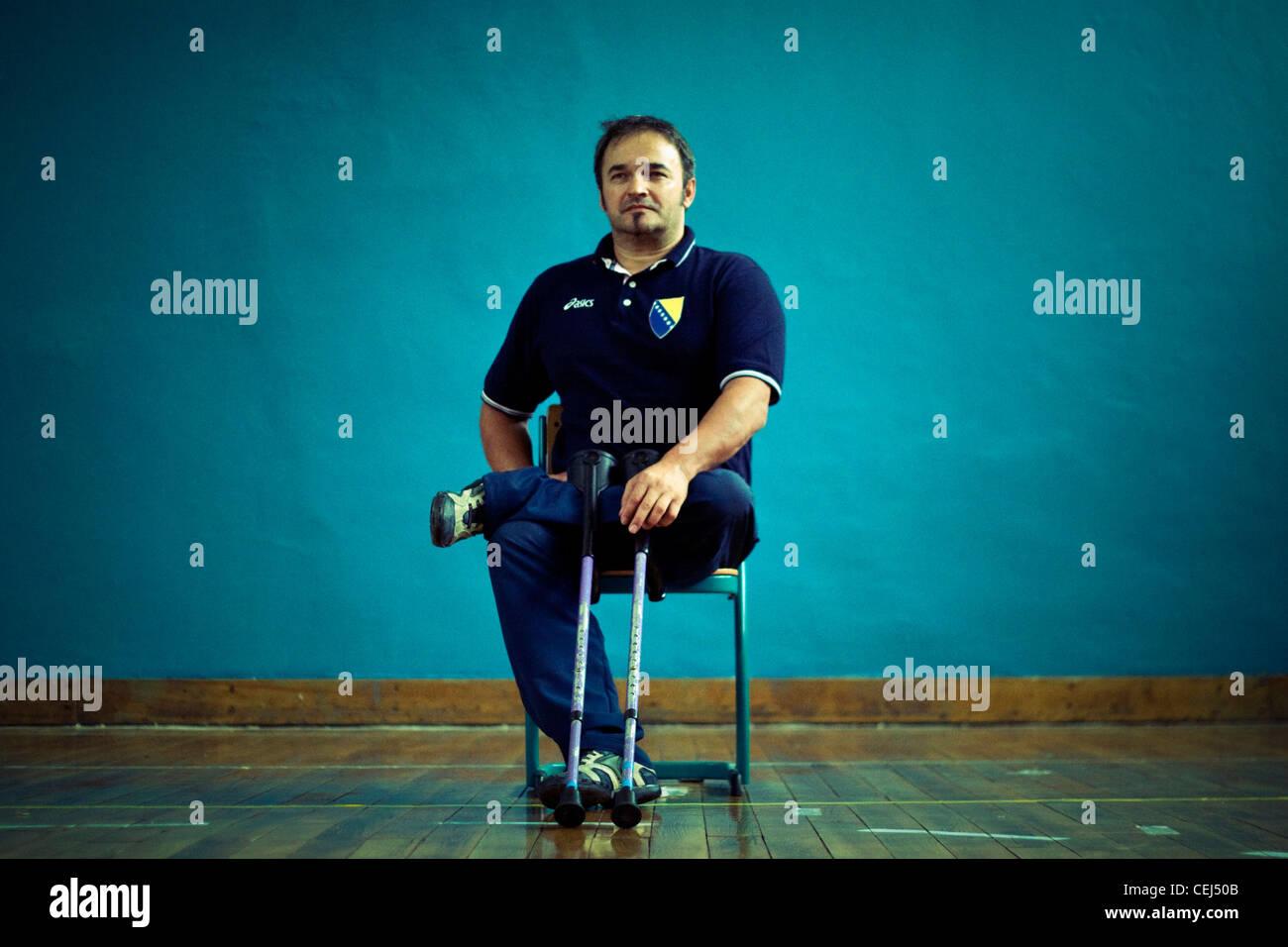 Color art fojnica - Mirza Hrustemovic Head Coach Of Bosnian Sitting Volleyball Team Fojnica Bosnia And Herzegovina