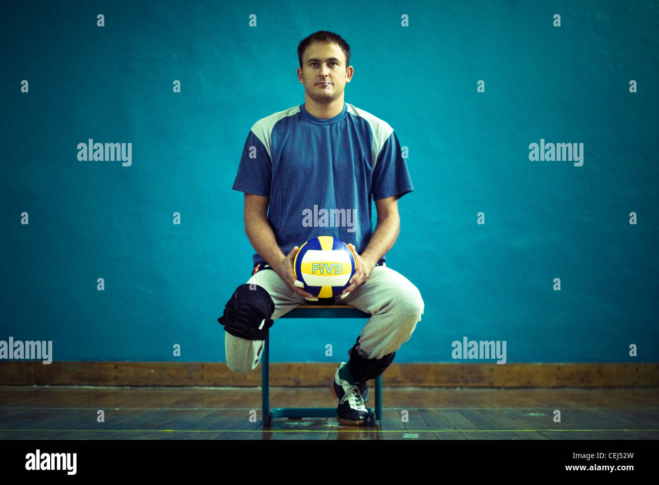 Color art fojnica - Ermin Jusufovic A Member Of Bosnian Sitting Volleyball Team Fojnica Bosnia And Herzegovina