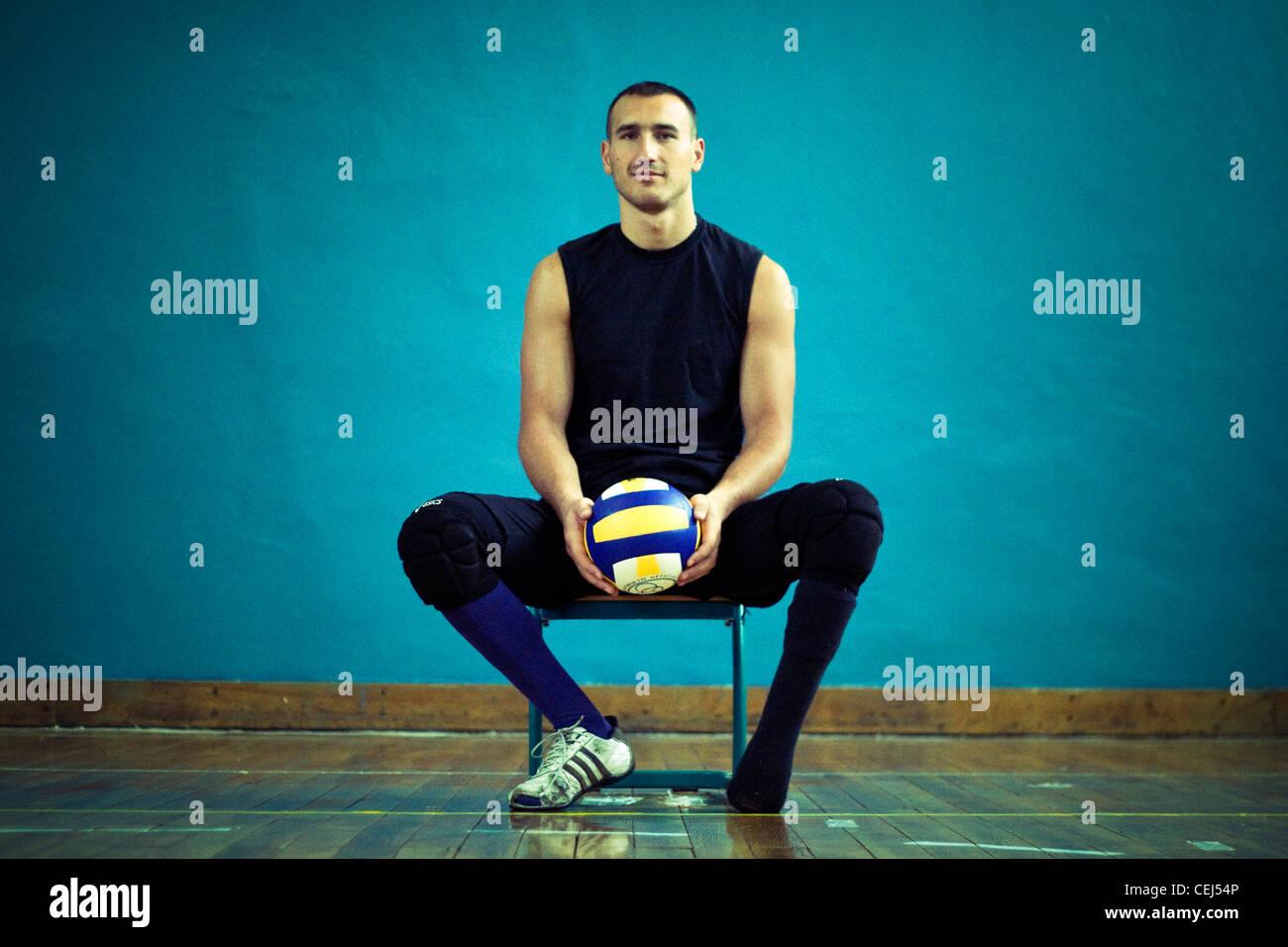Color art fojnica - Mirzet Duran A Member Of Bosnian Sitting Volleyball Team Fojnica Bosnia And Herzegovina