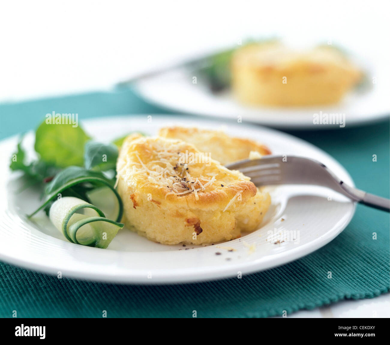 Twice baked Goats Cheese Souffles These light and tasty ...