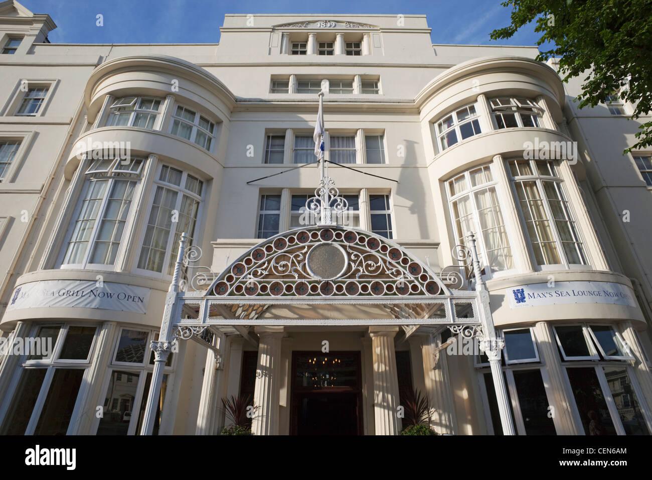 England Sussex Brighton Victorian Era Hotel Architecture