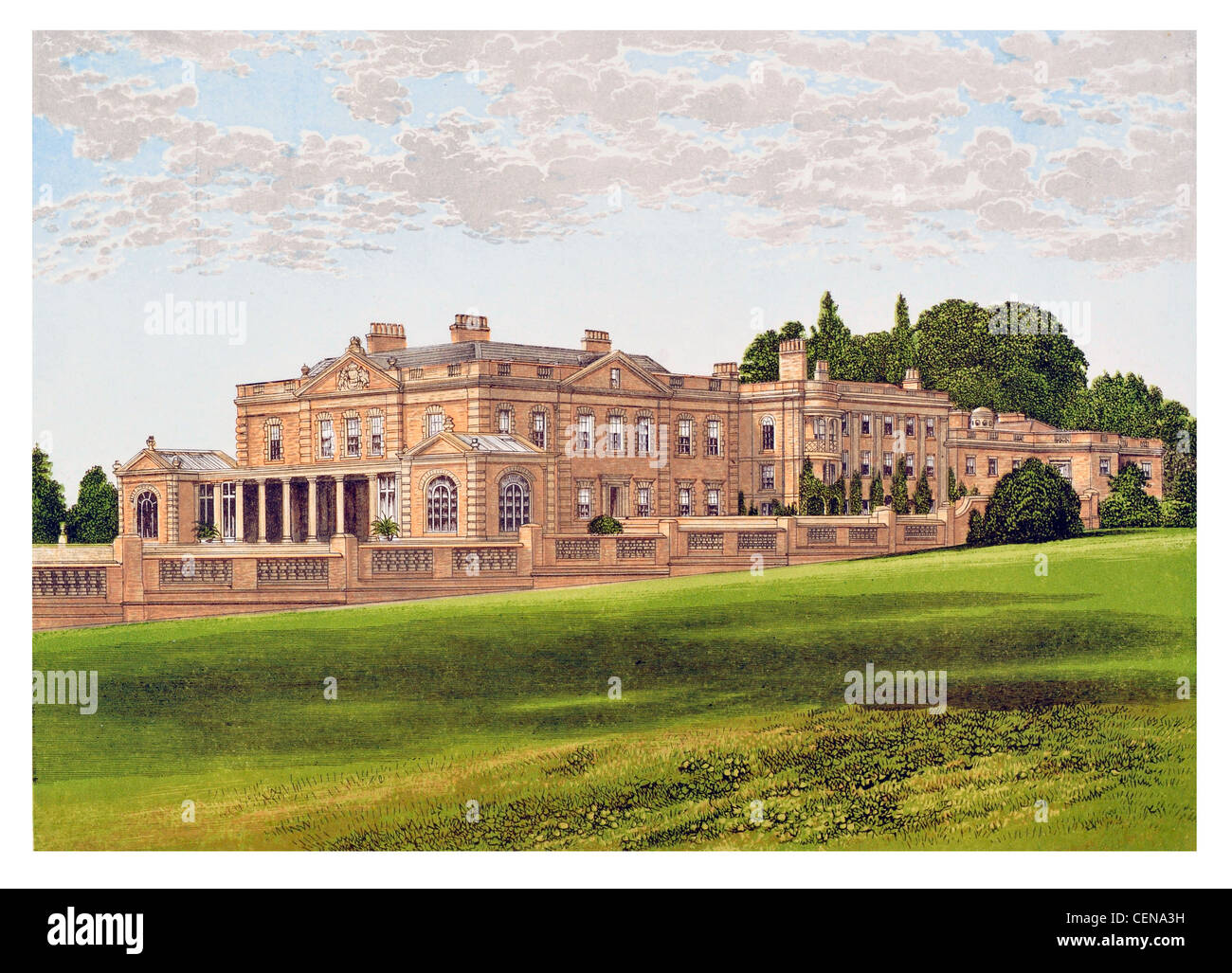 Home Design Architectural Free Download Gunton Hall Britain England Uk Parkland Park Mansion Manor