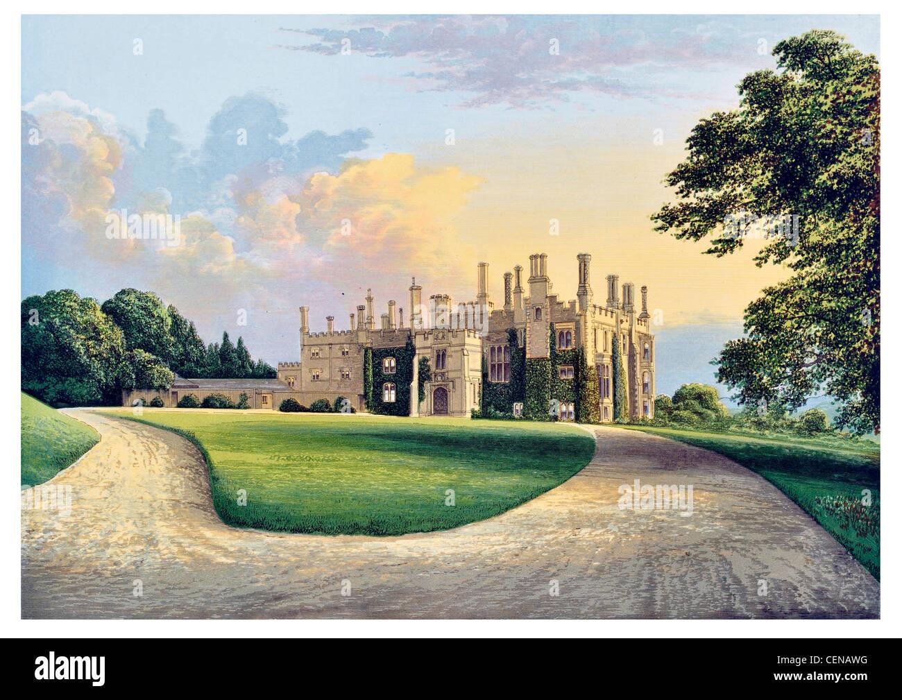 Eggesford House Britain England UK Parkland Park Mansion Manor Stately Home Hall Palace Estate Castle Landscaped Garden