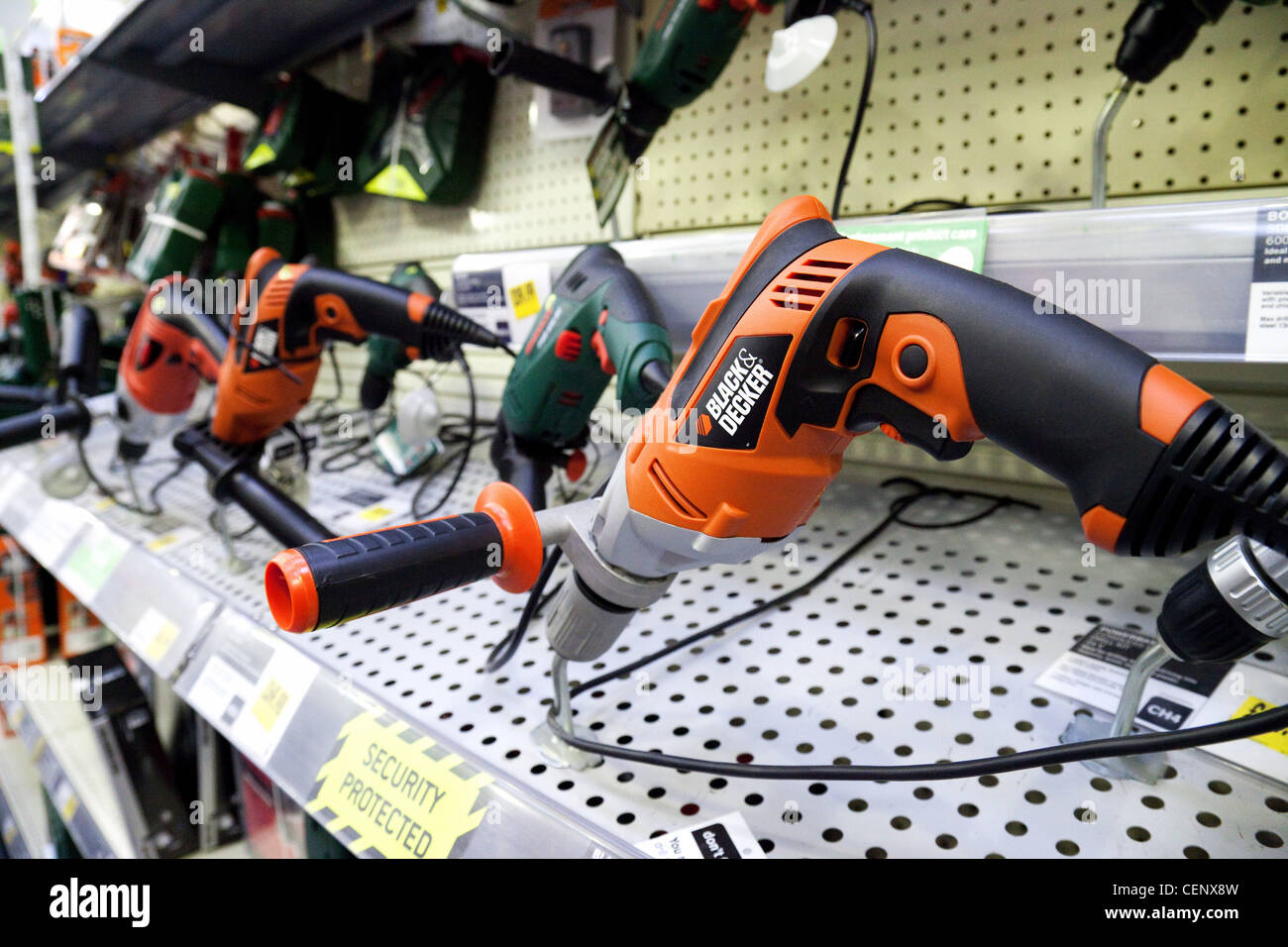 power tools for sale. black \u0026 decker power tools for sale in a hardware store, homebase uk m