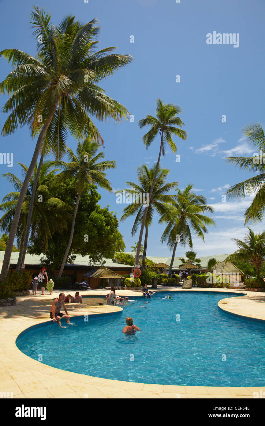 Swimming Pool Plantation Island Resort Malolo Lailai Island Stock Photo 43512910 Alamy