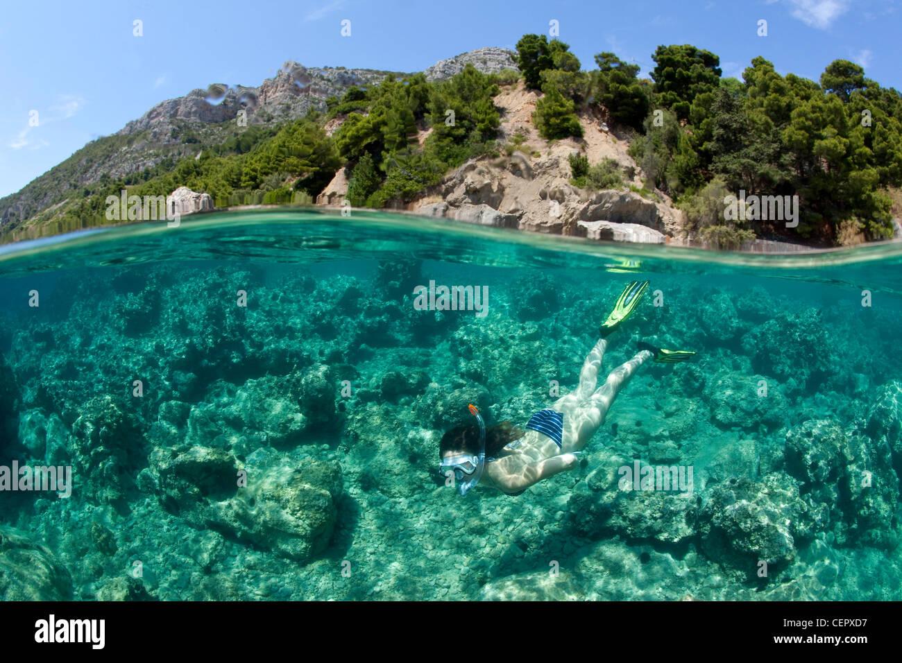 Snorkeling in Croatia, Vis Island, Adriatic Sea, Croatia ... Pictures Gobiidae Adriatic Sea