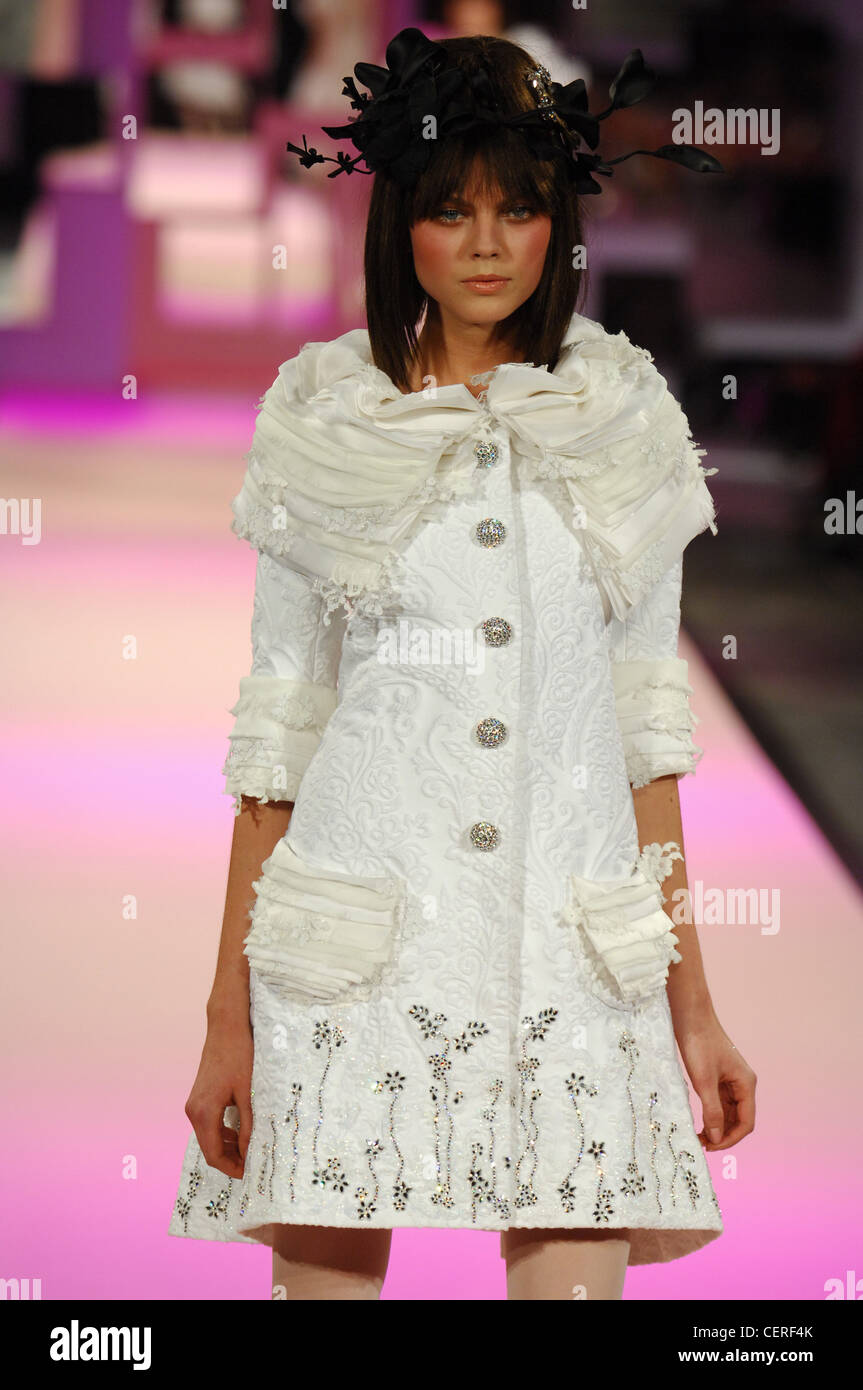 Christian Lacroix Paris Haute Couture Spring Summer White ...