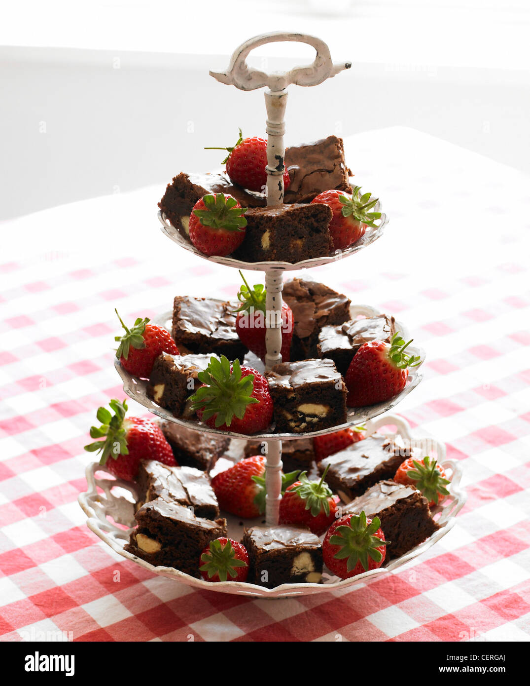 White Metal  Tier Cake Stand