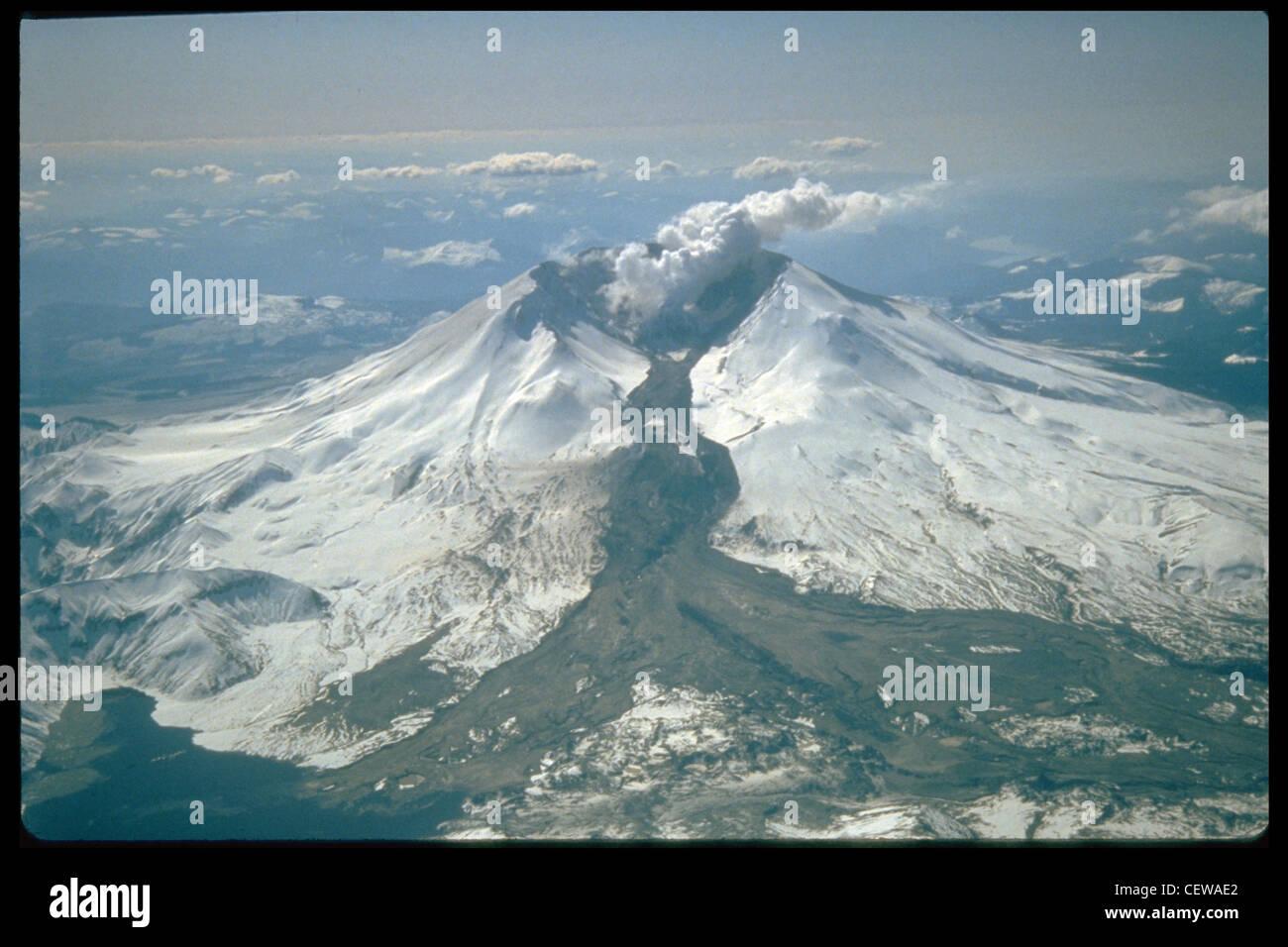 Mount St. Helens erupted often between 1980 and 1986. An ...