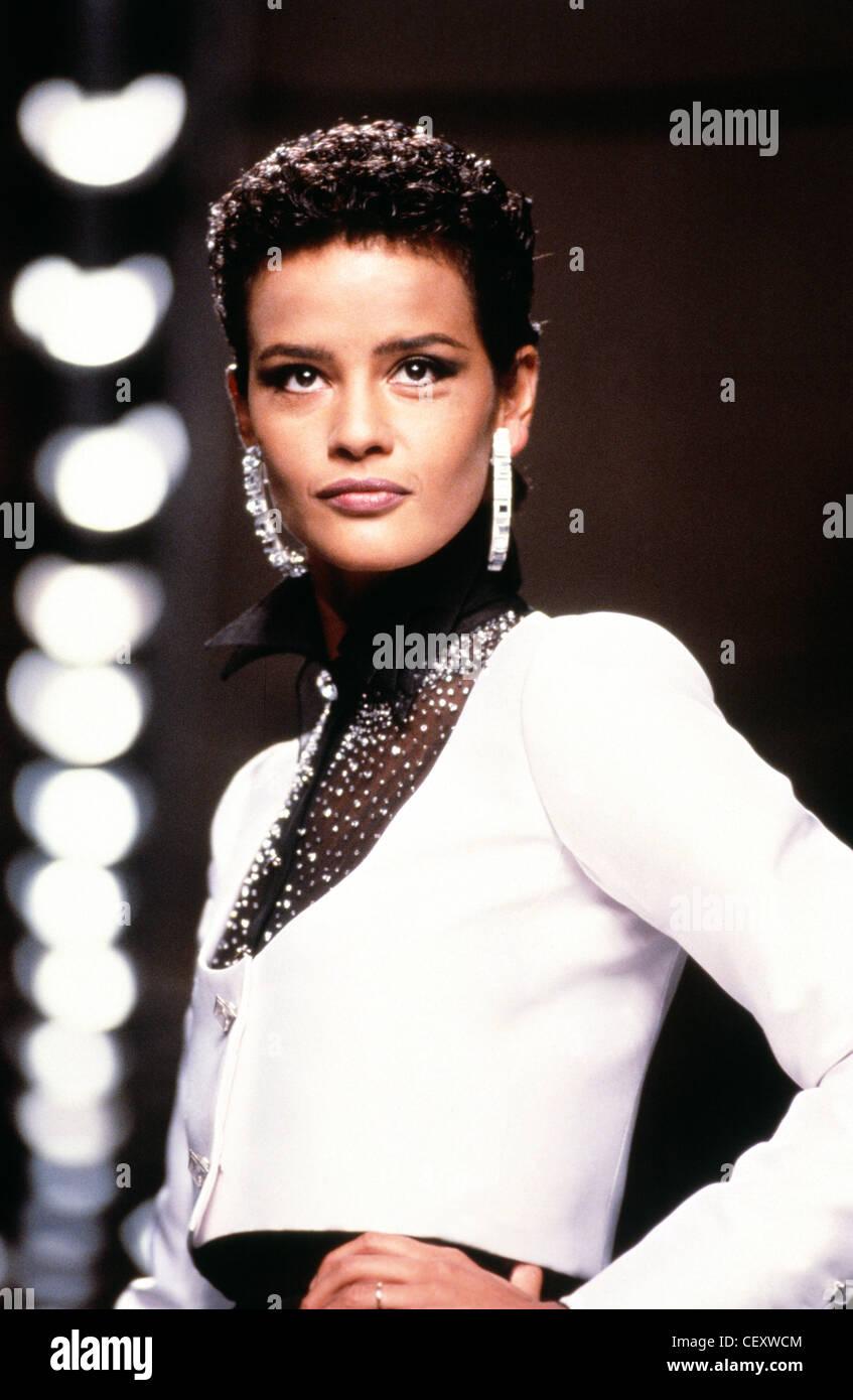 Stock photo supermodels paris french model nadege du bospertus