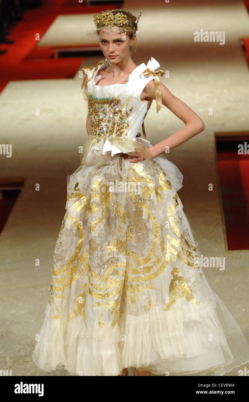 Haute Couture Christian Lacroix Spring Summer Paris Model ...