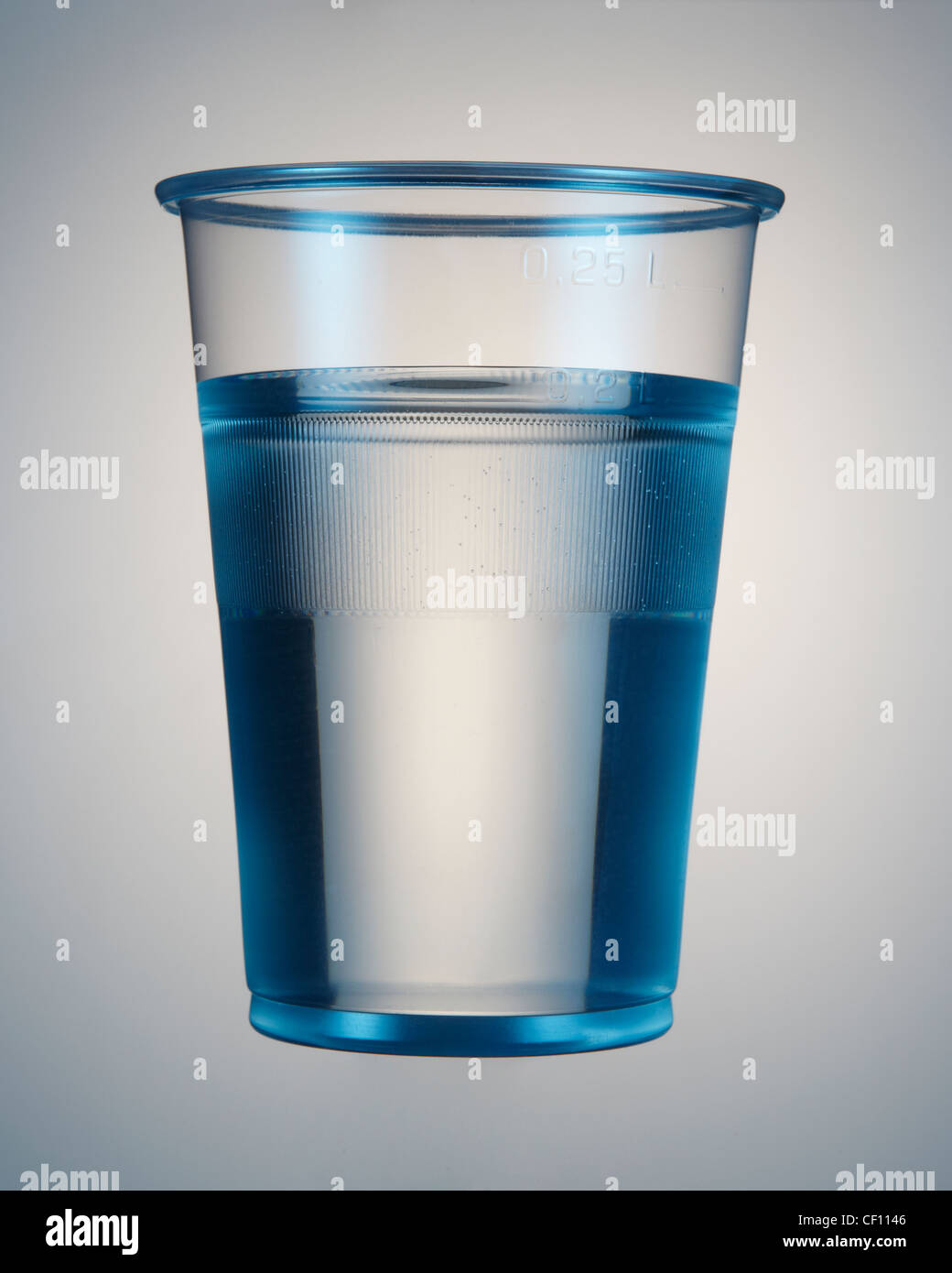 A plastic cup of water Stock Photo, Royalty Free Image ...