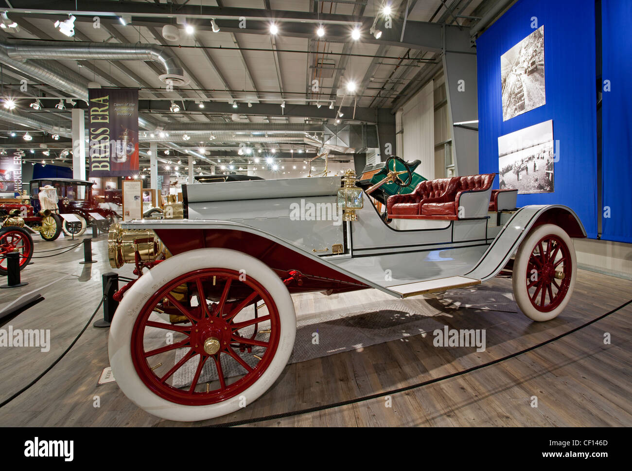 Antique Ford Automobile Stock Photos  Antique Ford Automobile - Classic car museums in usa