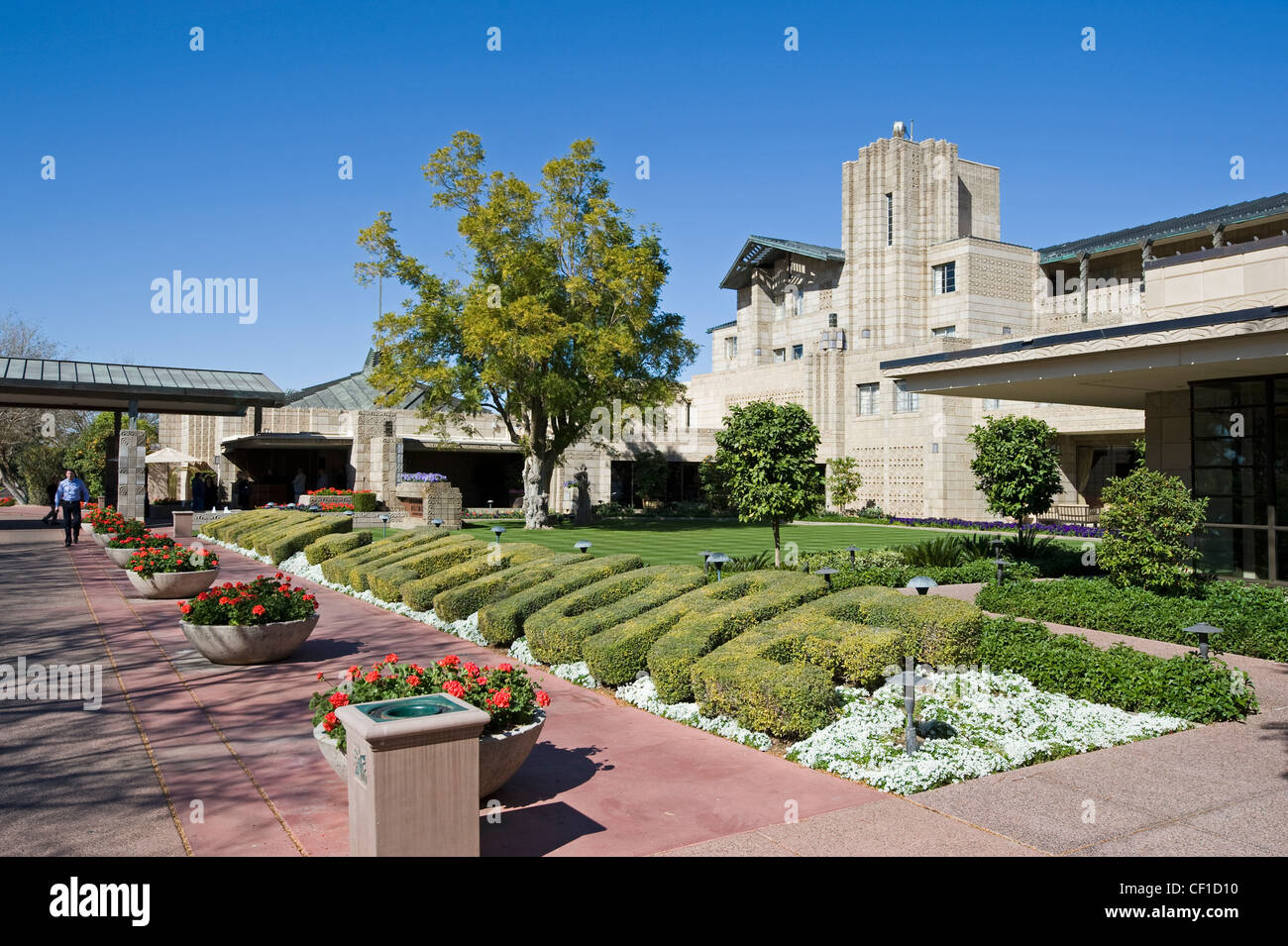 the biltmore resort & hotel, phoenix, arizona, usa stock photo