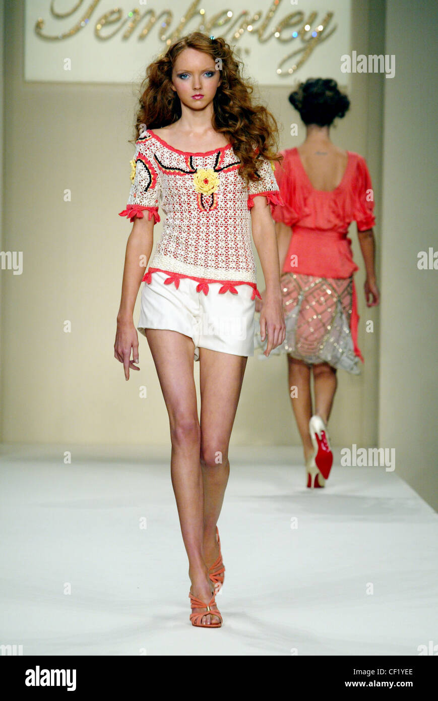 Temperley London Ready To Wear Spring Summer Model Lily
