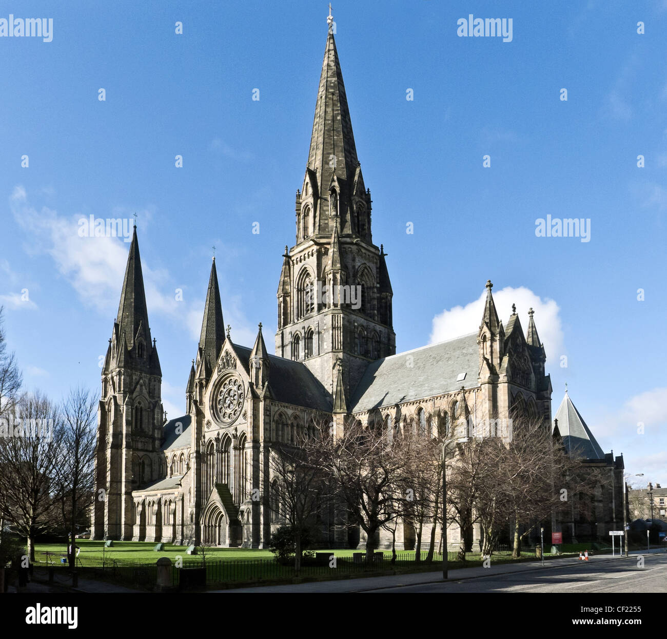 St Mary's Episcopal Cathedral in Palmerston Place ...