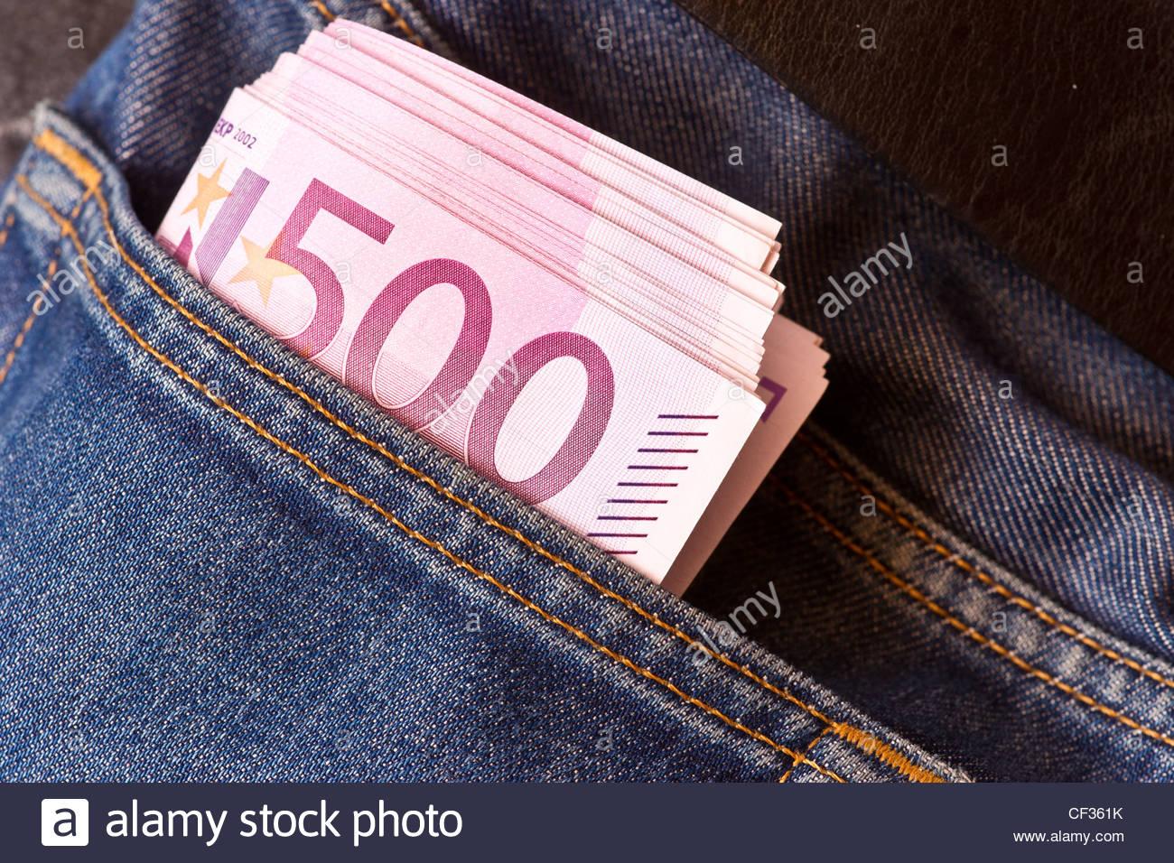 We buy euros