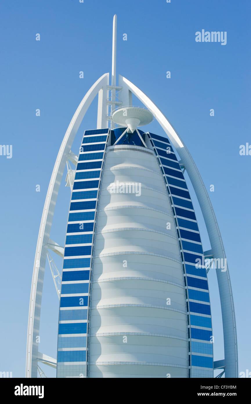 Dubai Burj Al Arab Building Hotel Jumeirah Beach United