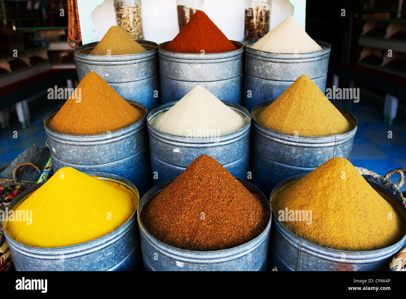 moroccan spice stock photos & moroccan spice stock images - alamy