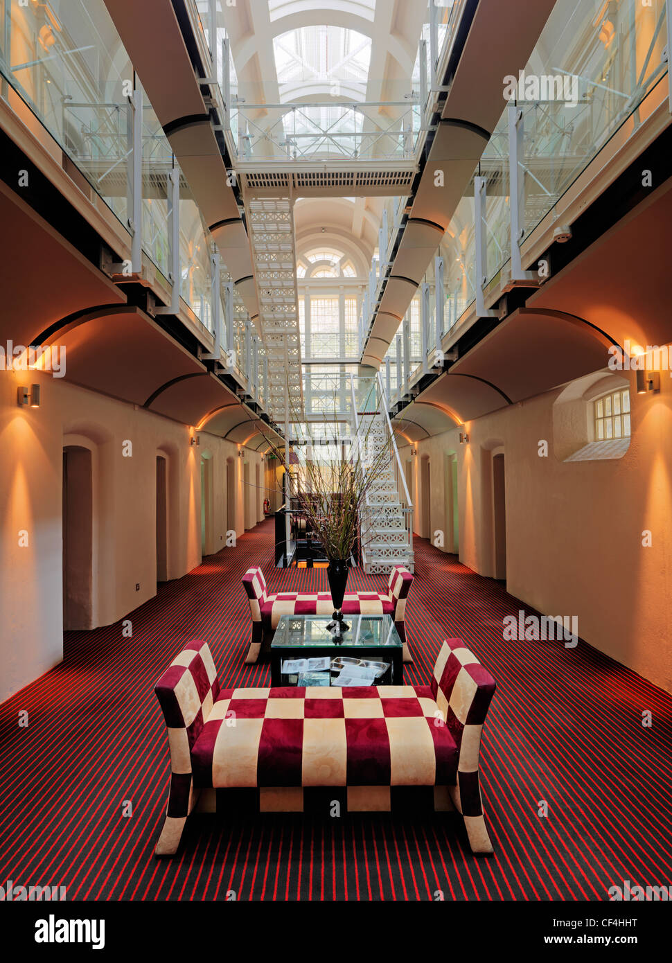 Inside the oxford mal a former prison converted into a for Luxury hotel oxford