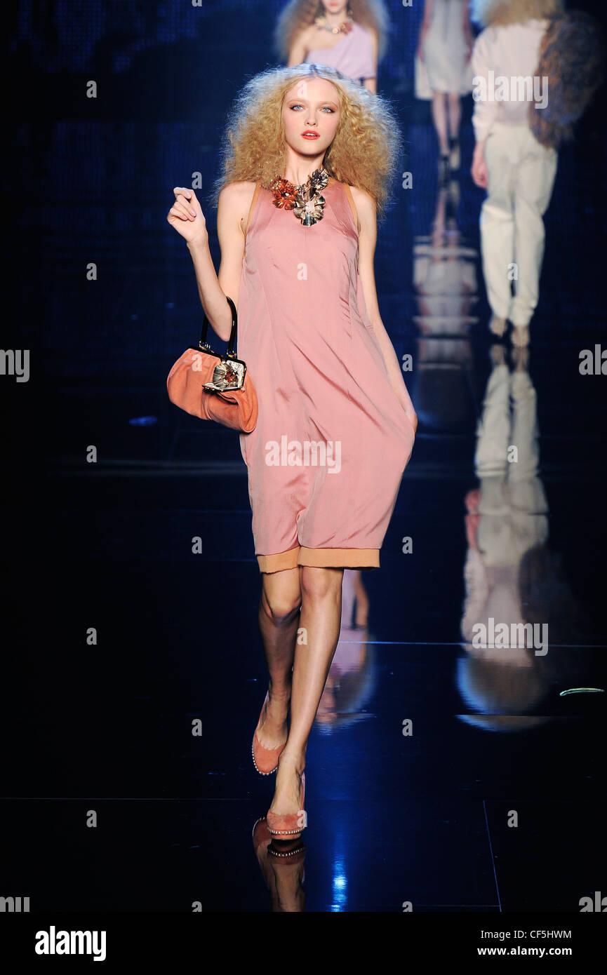 Knee Length Metallic Dress