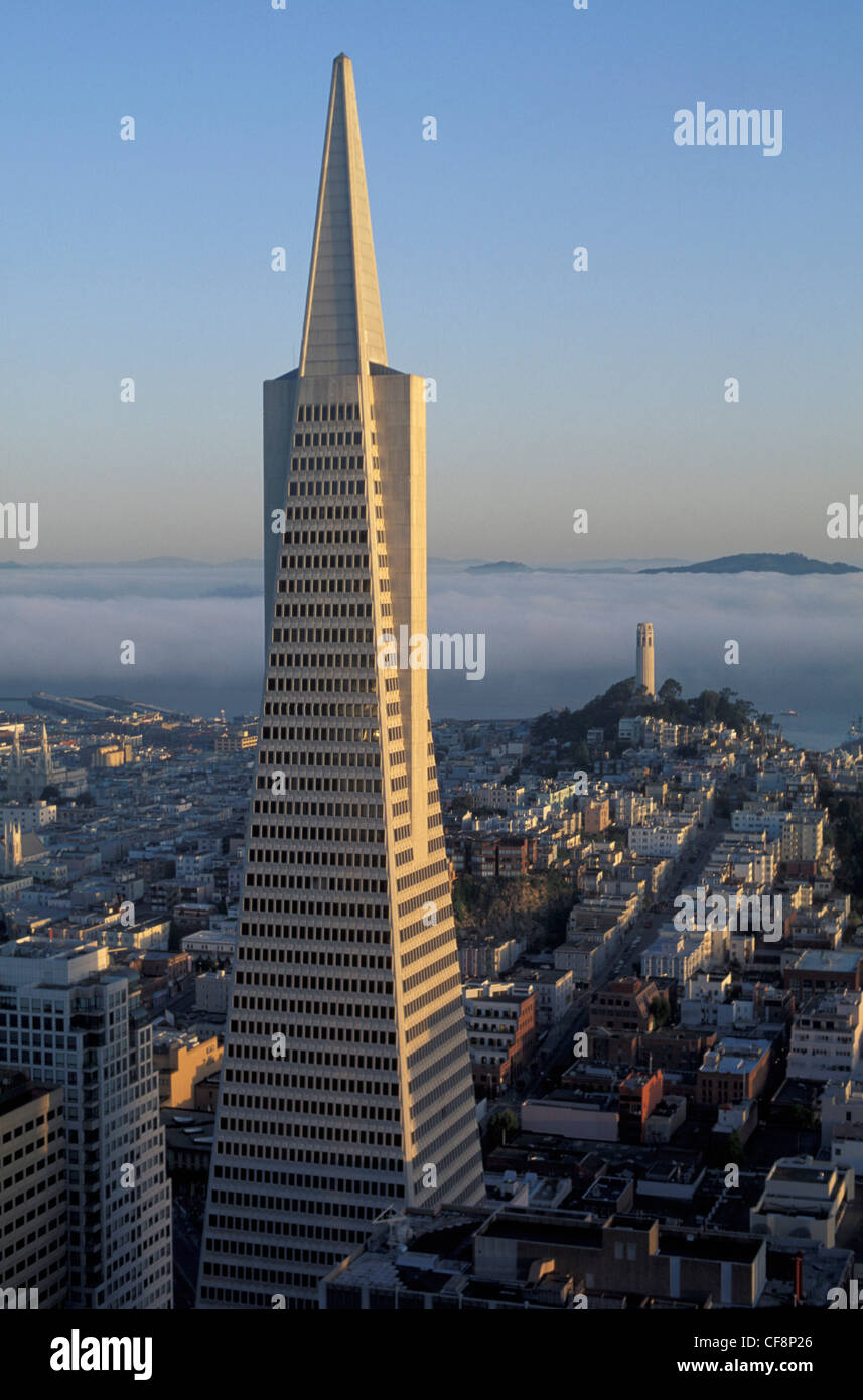 Modern Architecture San Francisco transamerica, pyramid, san francisco, california, usa, united