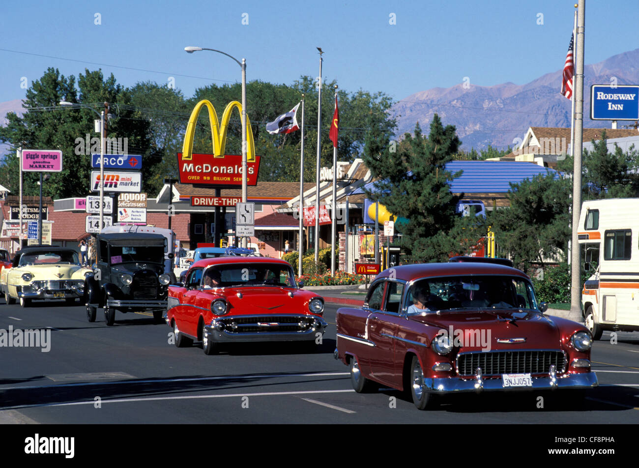 Bishop, California, USA, United States, America, Classic cars ...